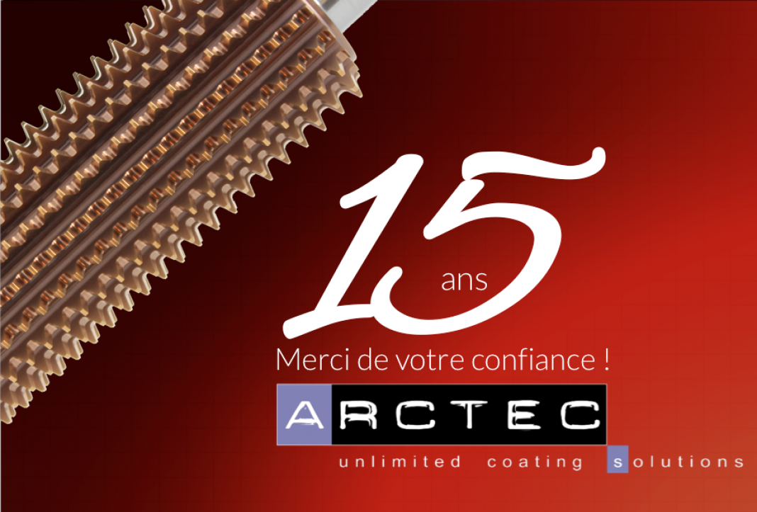 ARCTEC REVETEMENT PVD DURS COUCHES METAL CERAMIQUE SOUS VIDE COATING DÉPOT PHYSICAL VAPOR DEPOSITION PROTECTION DE SURFACE SOLUTIONS PRODUCTIVITE USINAGE FORMAGE DES MÉTAUX PRESSE DE MATRICAGE POINCON DE FORME EMBOUTISSAGE PROFOND EBAVURAGE FRAPPE A CHAUD FRAPPE A FROID FRAPPE DECOUPE OUTIL DE PRESSE PROFILAGE FILIERE FORGE A CHAUD FORGE A FROID PROTECTION CONTRE L'USURE FAIBLE COEFFICIENT DE FROTTEMENT STABILITÉ THERMIQUE ELEVEE HAUTE RESISTANCE A L'USURE EXCELLENTES PROPRIETES DE GLISSEMENT FATIGUE THERMIQUE PROLONGATION DUREE DE VIE
